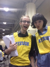 it's time to invigilate some exams. ryerson bibs included