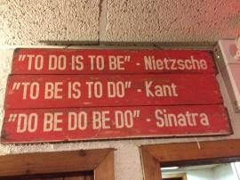 at a local pub