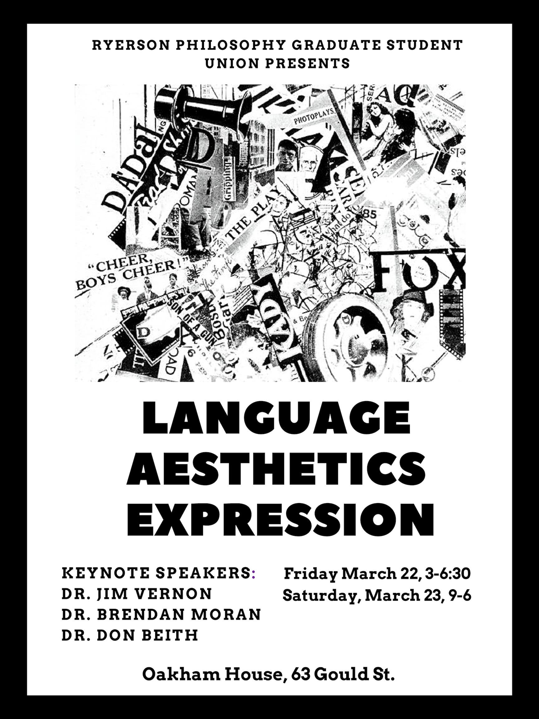 Language Aesthetics Expression 2019